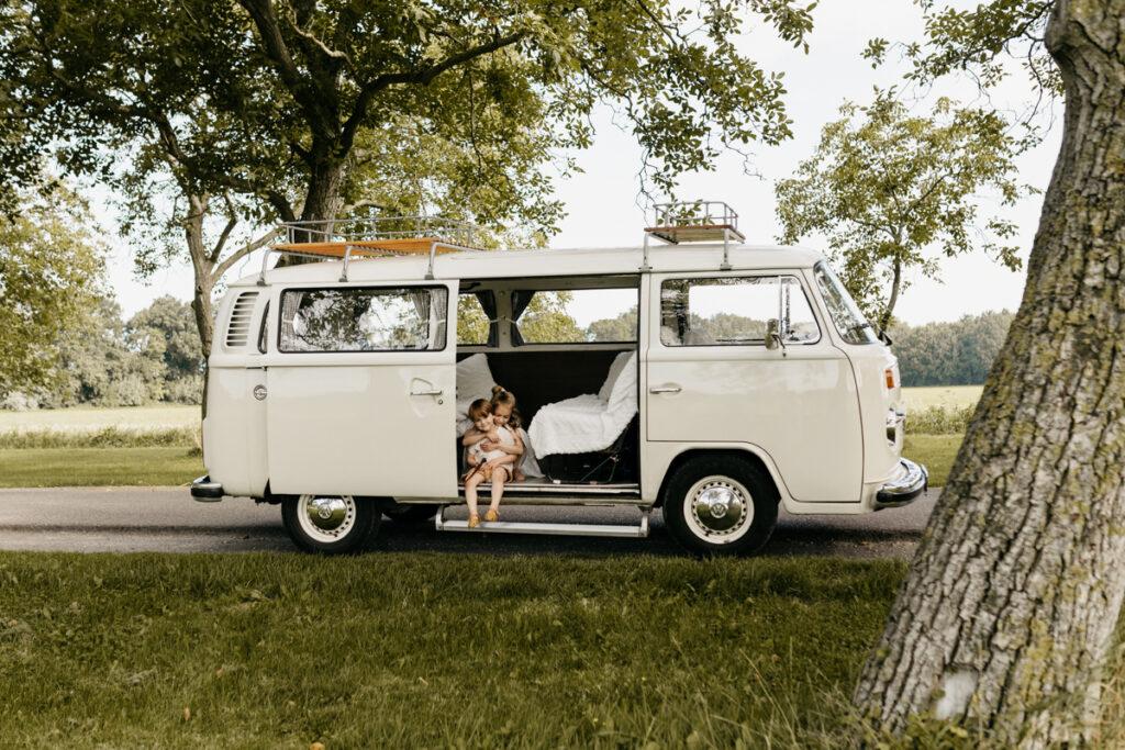 Fotosessie Volkswagenbusje