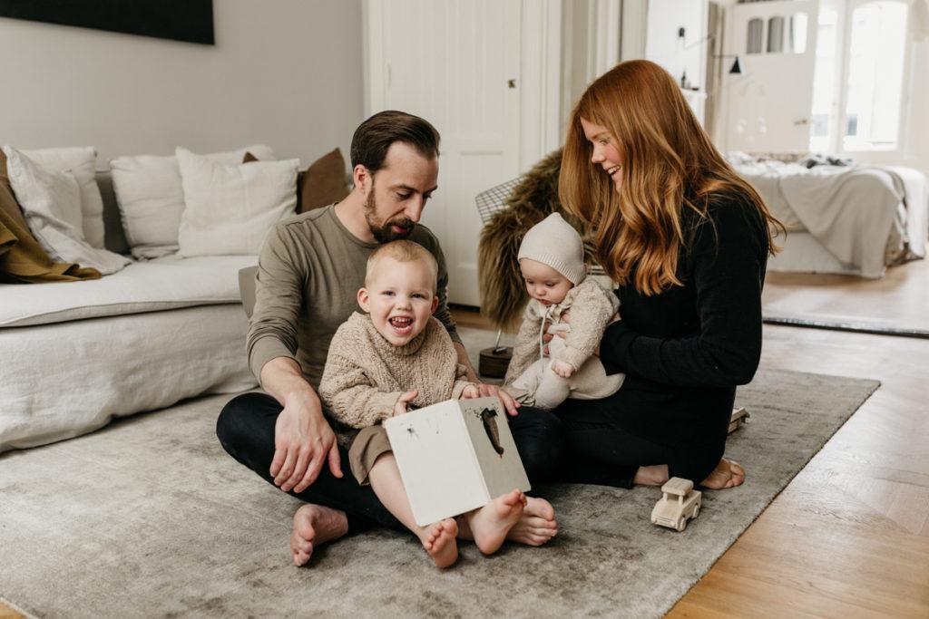Fotosessie gezin