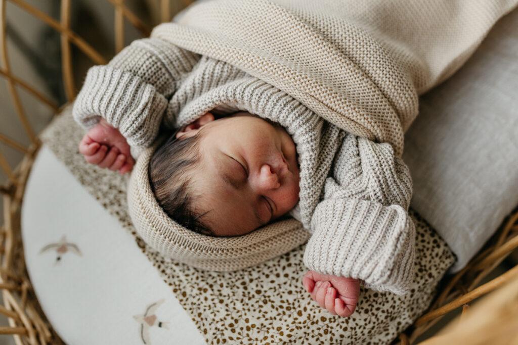 Newborn fotoshoot Breda